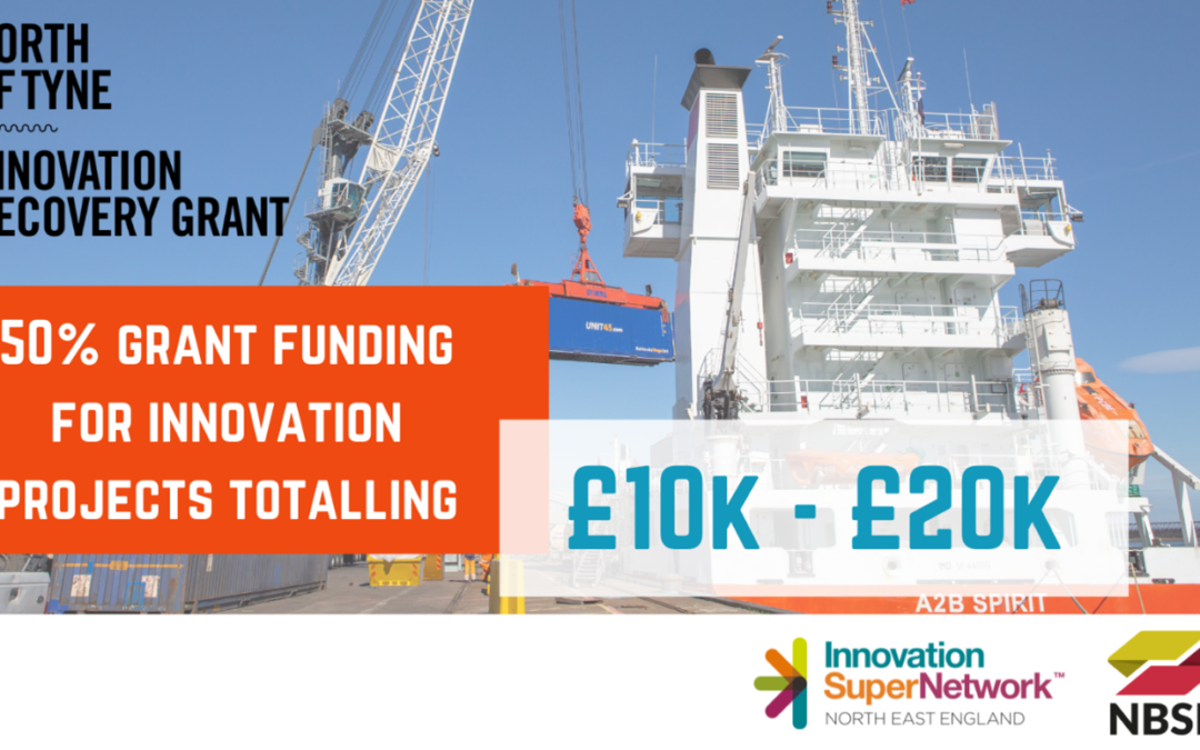 Innovation Recovery Grant Fund launched to boost businesses North of Tyne